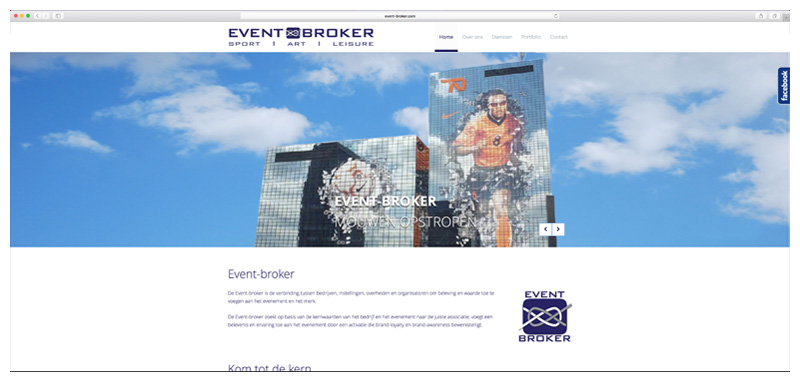 Website Event Broker